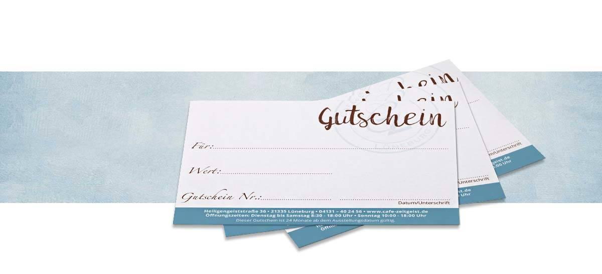 Cafe Zeitgeist Lüneburg Gutschein